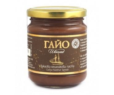 Течен шоколад (лешниково-какаова паста) Гайо - веган, 200 гр.