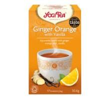 чай Джинджифил, портокал и ванилия Yogi Tea