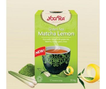 чай Матча и лимон Yogi Tea 17пак