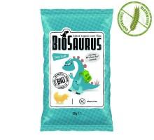 Биозаври - био печен снакс с морска сол, 50 гр.