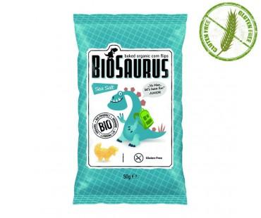 Биозаври - био печен снакс с морска сол
