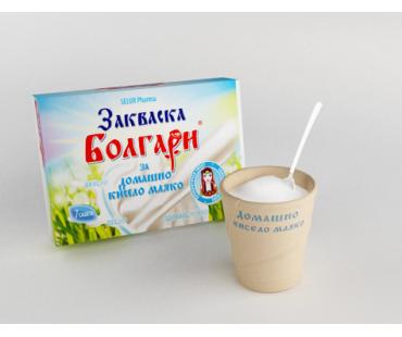Закваска Болгари за домашно кисело мляко/бр.