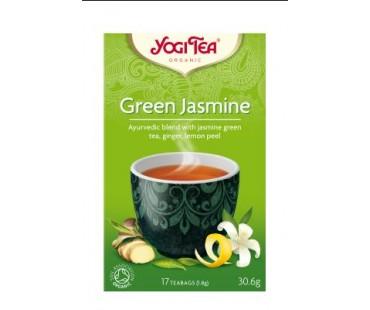 чай Зелен жасмин Yogi Tea 17пак